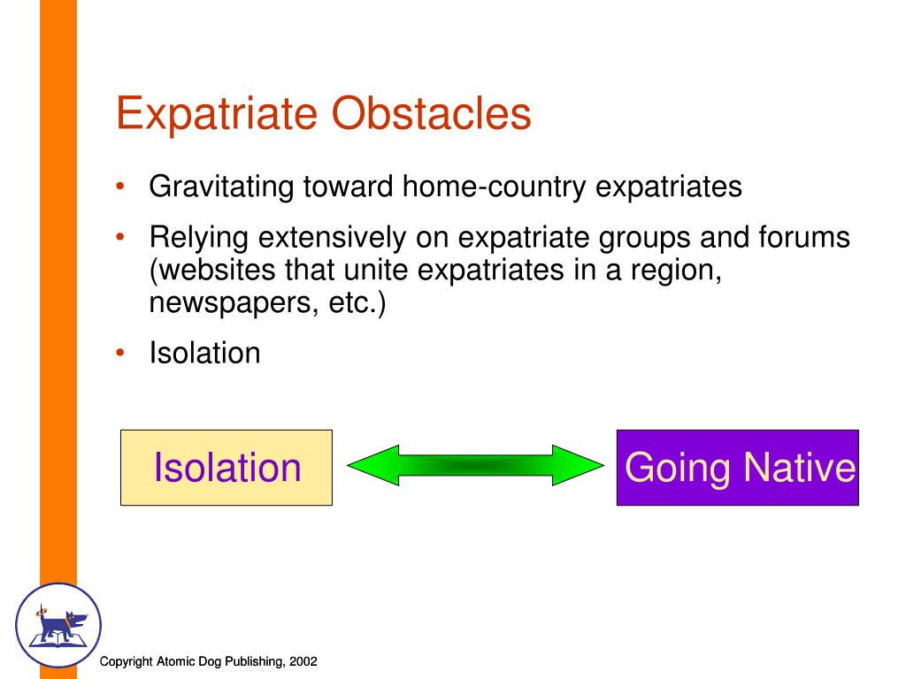 Expatriate Obstacles