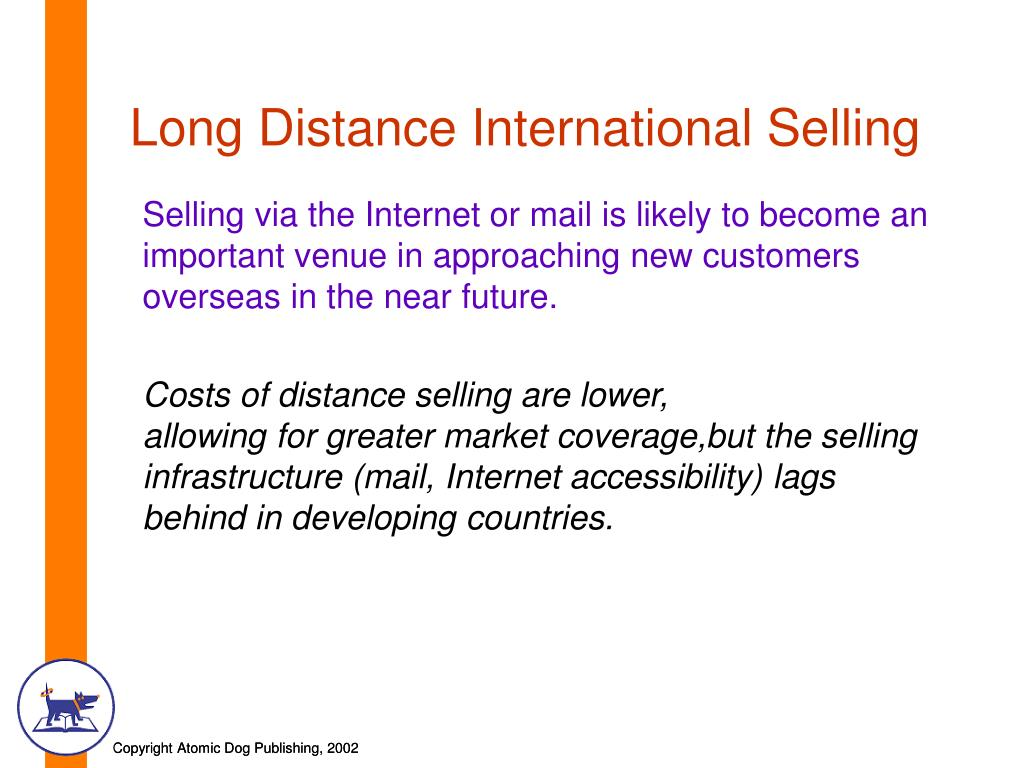 Long Distance International Selling
