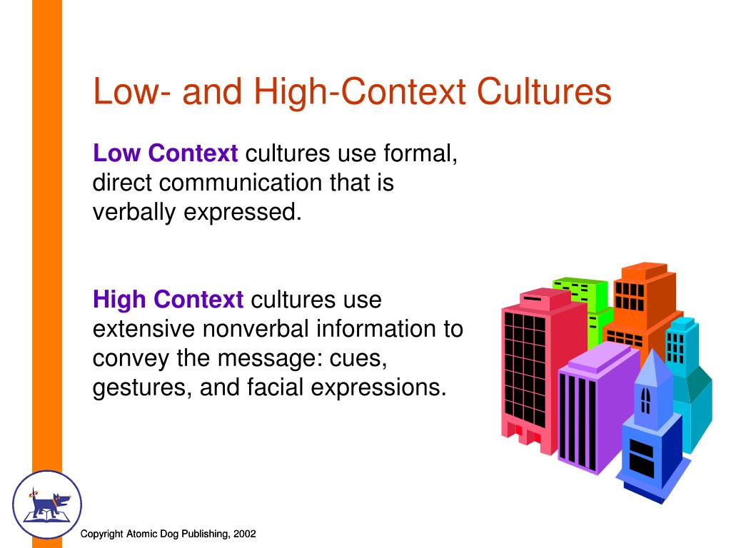 Low- and High-Context Cultures