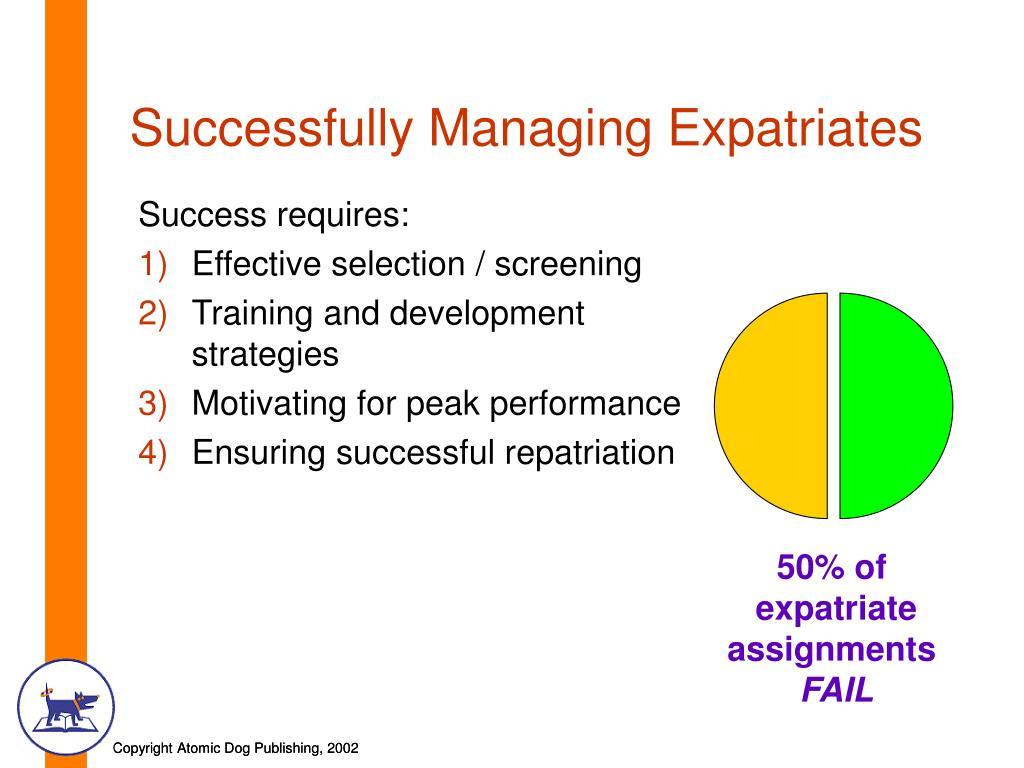 Successfully Managing Expatriates