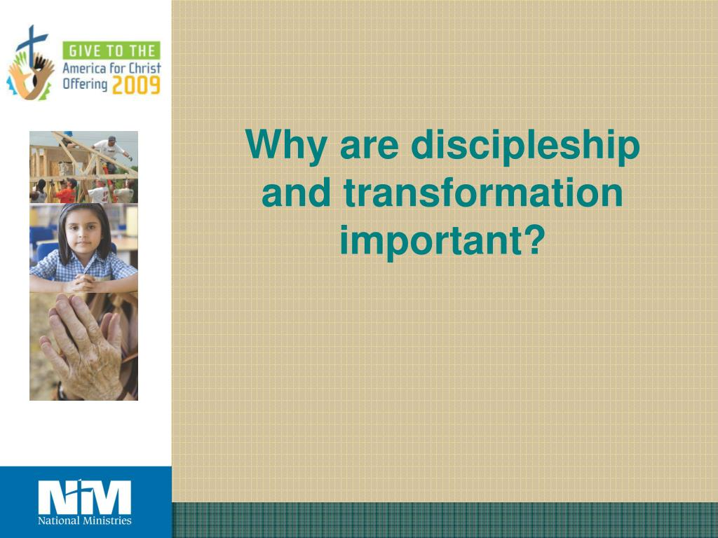 Why are discipleship