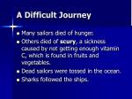 a difficult journey9
