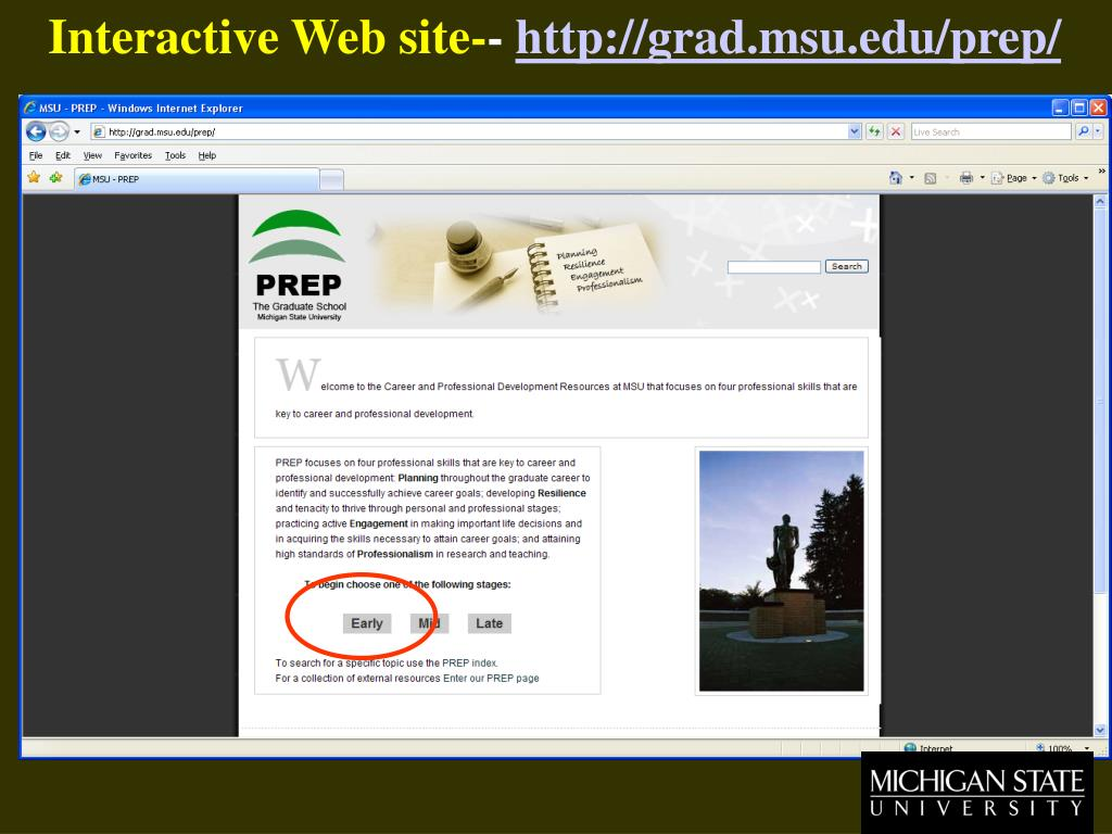 Interactive Web site-