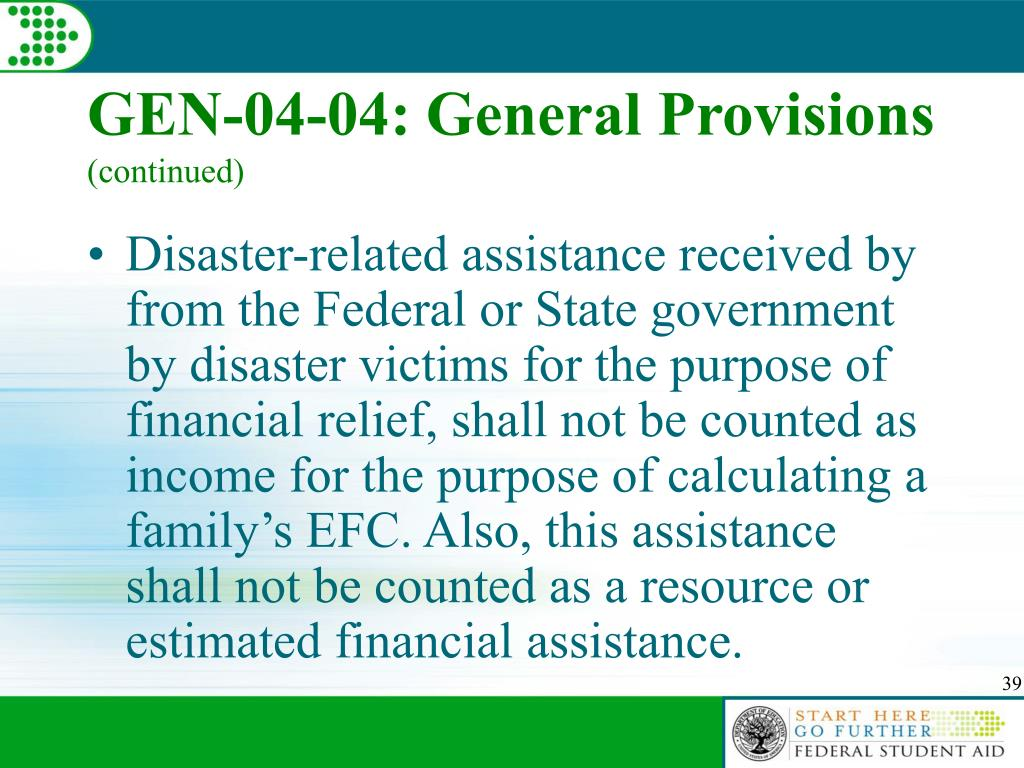 GEN-04-04: General Provisions