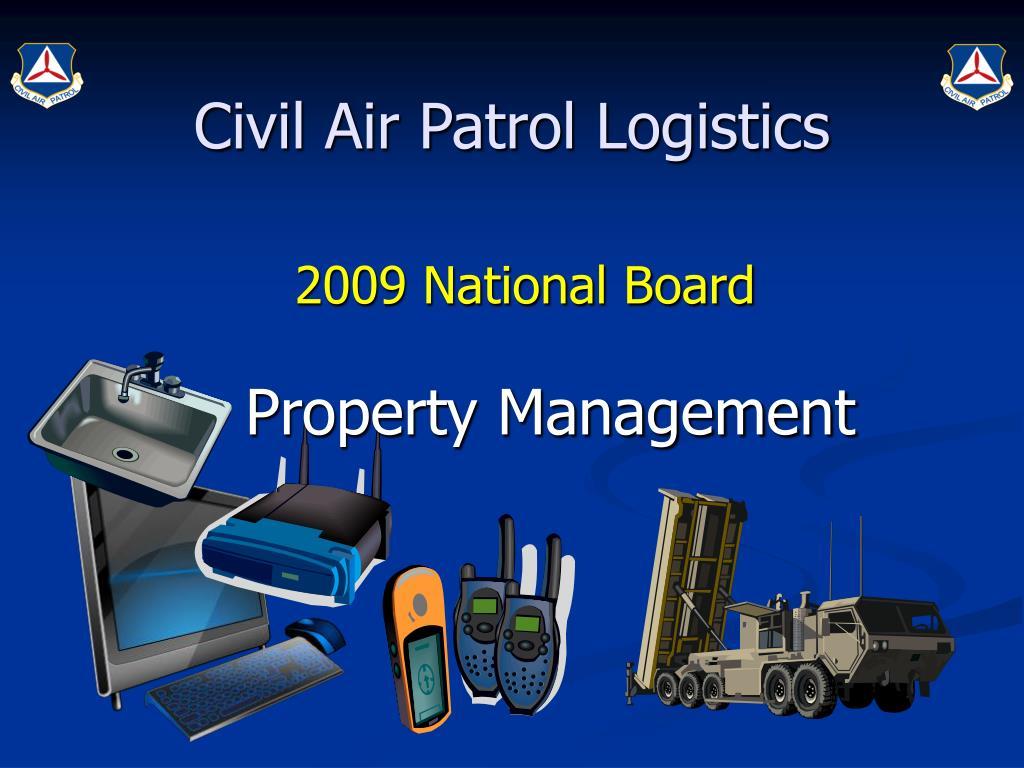 Civil Air Patrol Logistics