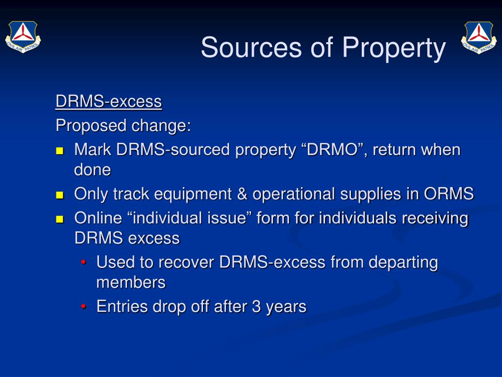 Sources of Property