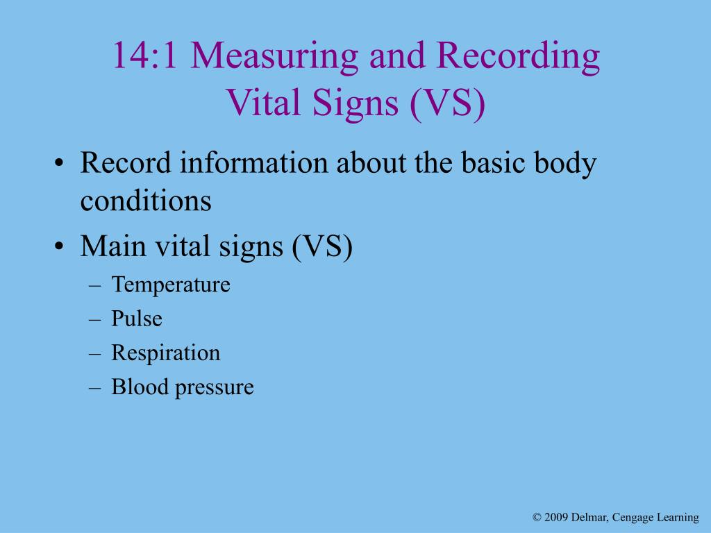 recording vital signs Home medical reference and training manuals lesson 6: recording vital signs - taking vital signs.