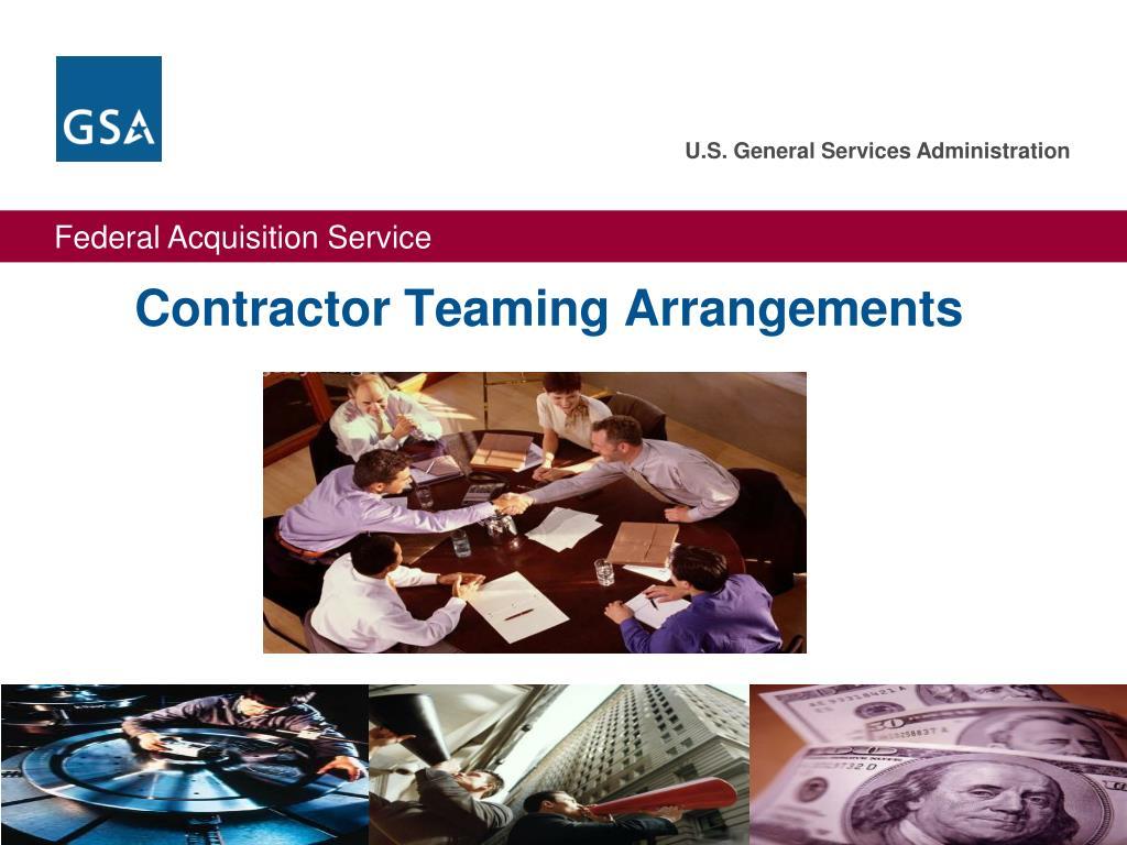 Contractor Teaming Arrangements