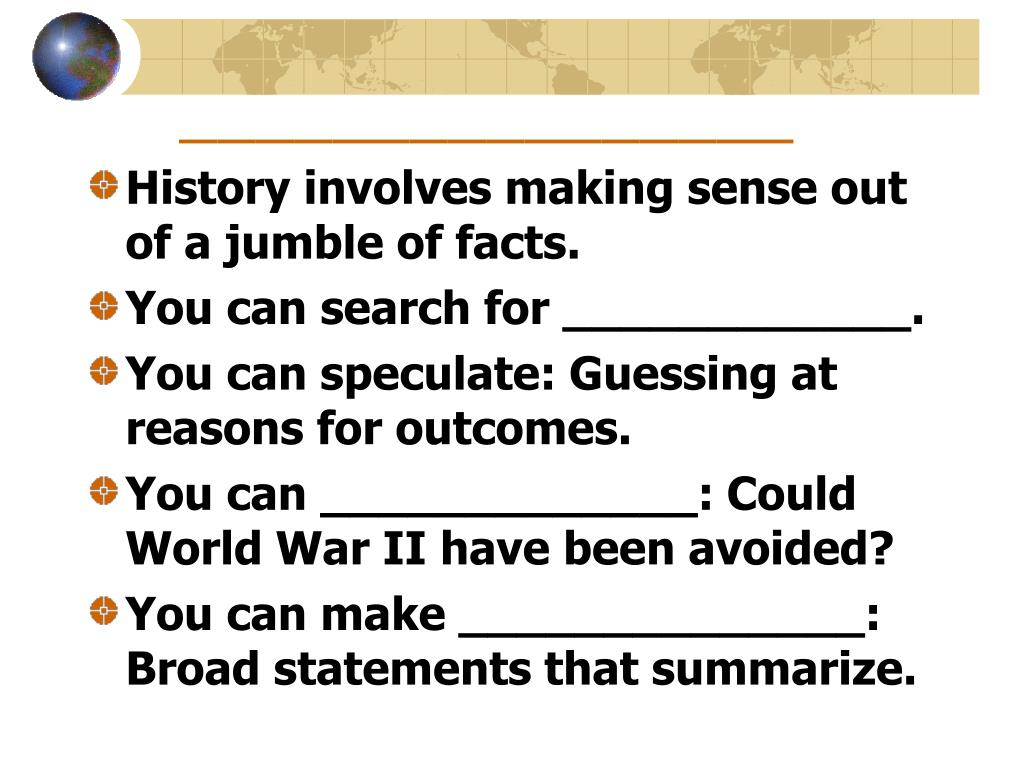 could wwii have been avoided essay Now for question number one: could the cold war have been avoided given what we know now leading to an earlier cold war in place of wwii or.
