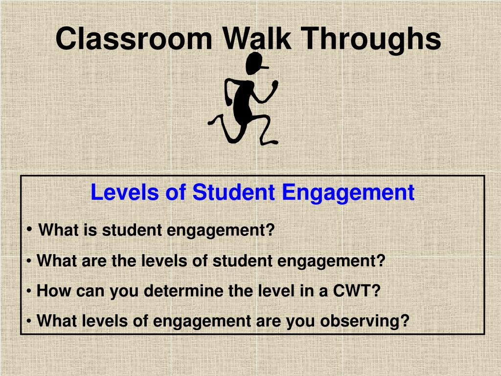 Levels of Student Engagement