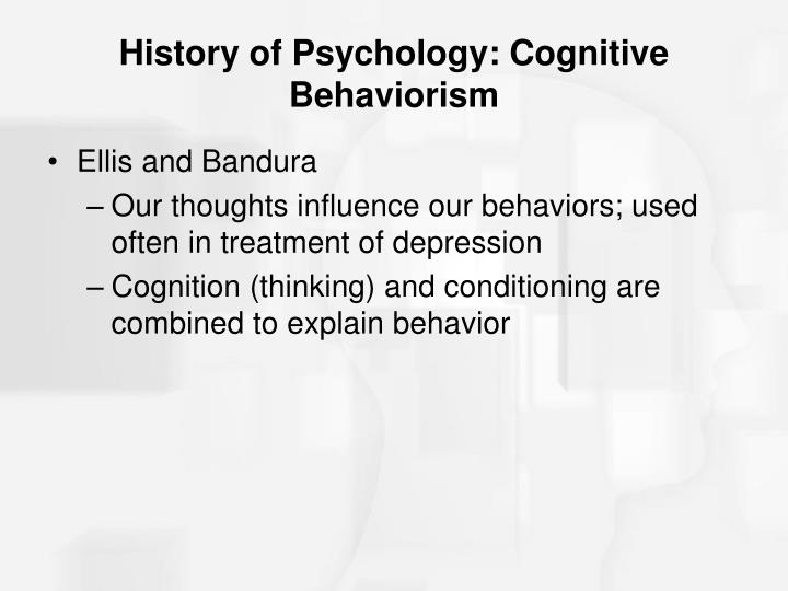 history of behaviorism Behaviorism is concerned primarily with theobservable and measurable aspects  of human behavior therefore when behaviorsbecome unacceptable, they can.