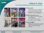 william r wiley environmental molecular sciences laboratory