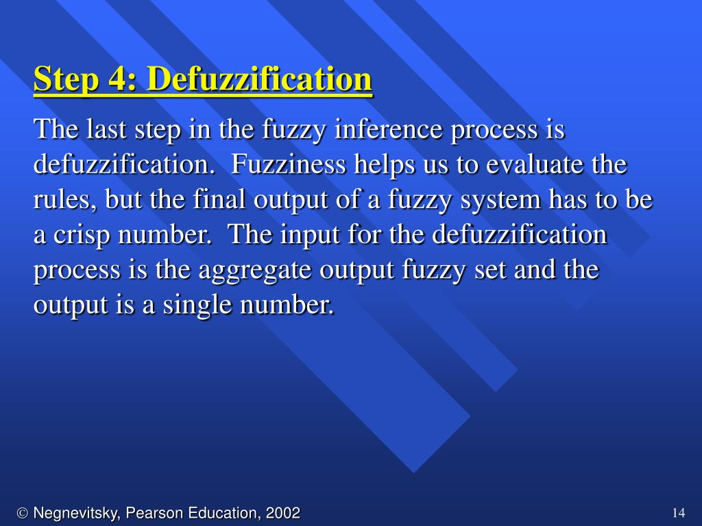 Step 4: Defuzzification