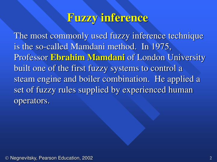 Fuzzy inference