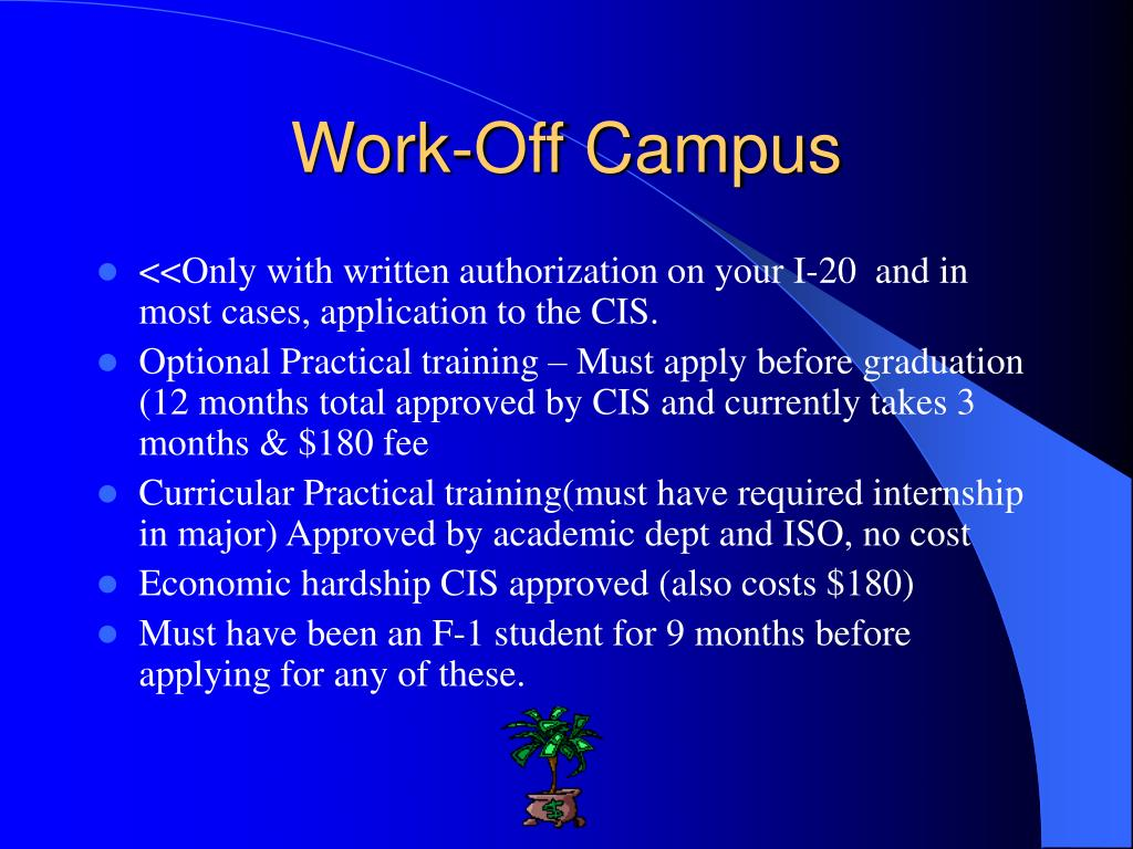 Work-Off Campus