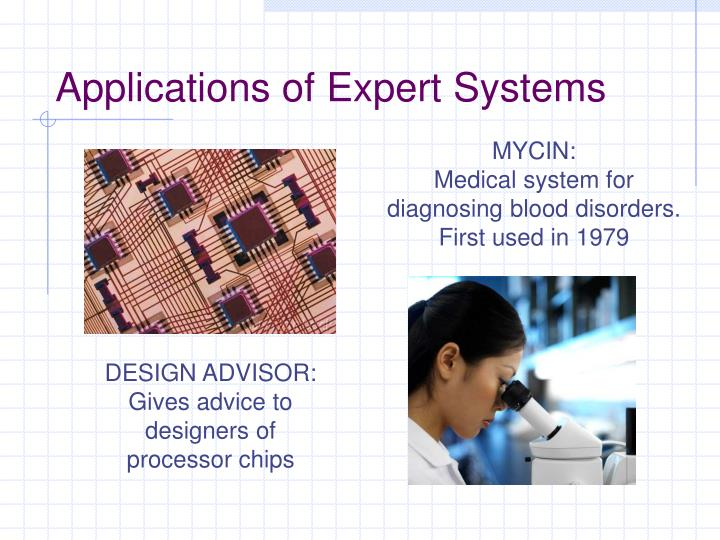 Applications of expert systems3