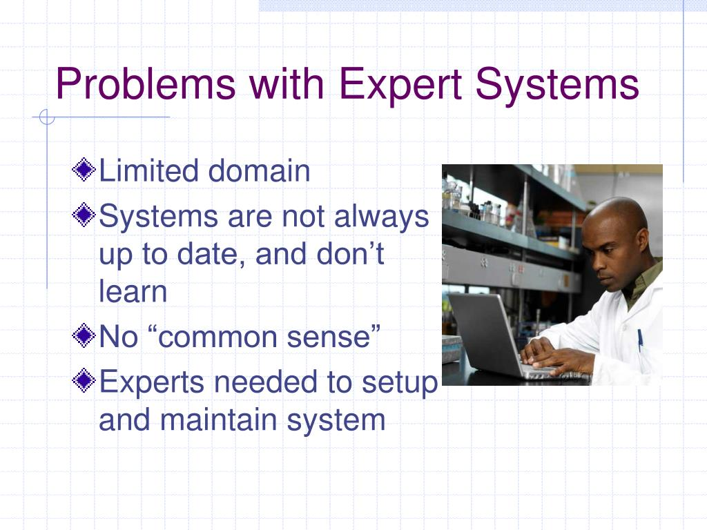 Problems with Expert Systems