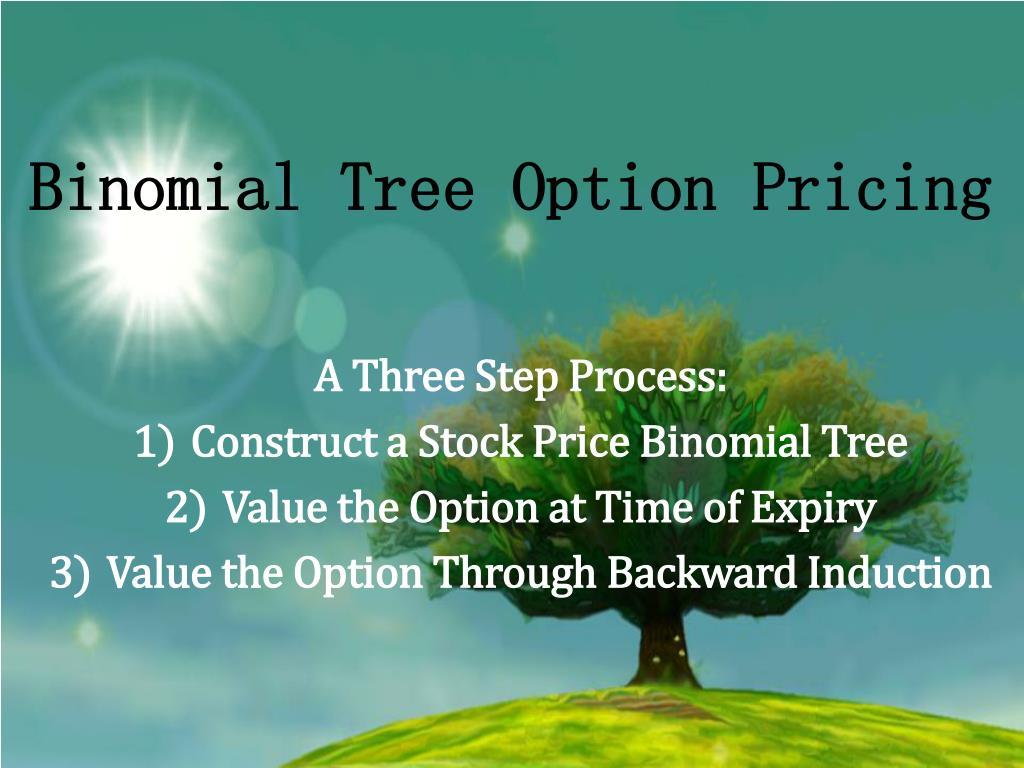 Stock options binomial