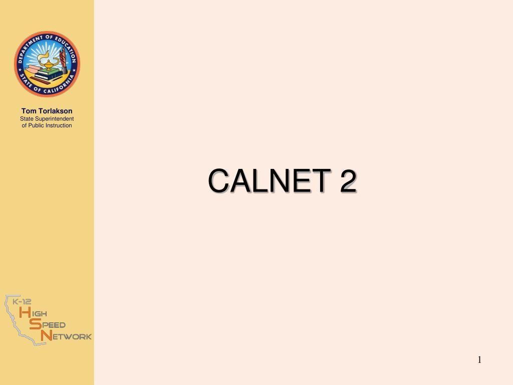 CALNET 2