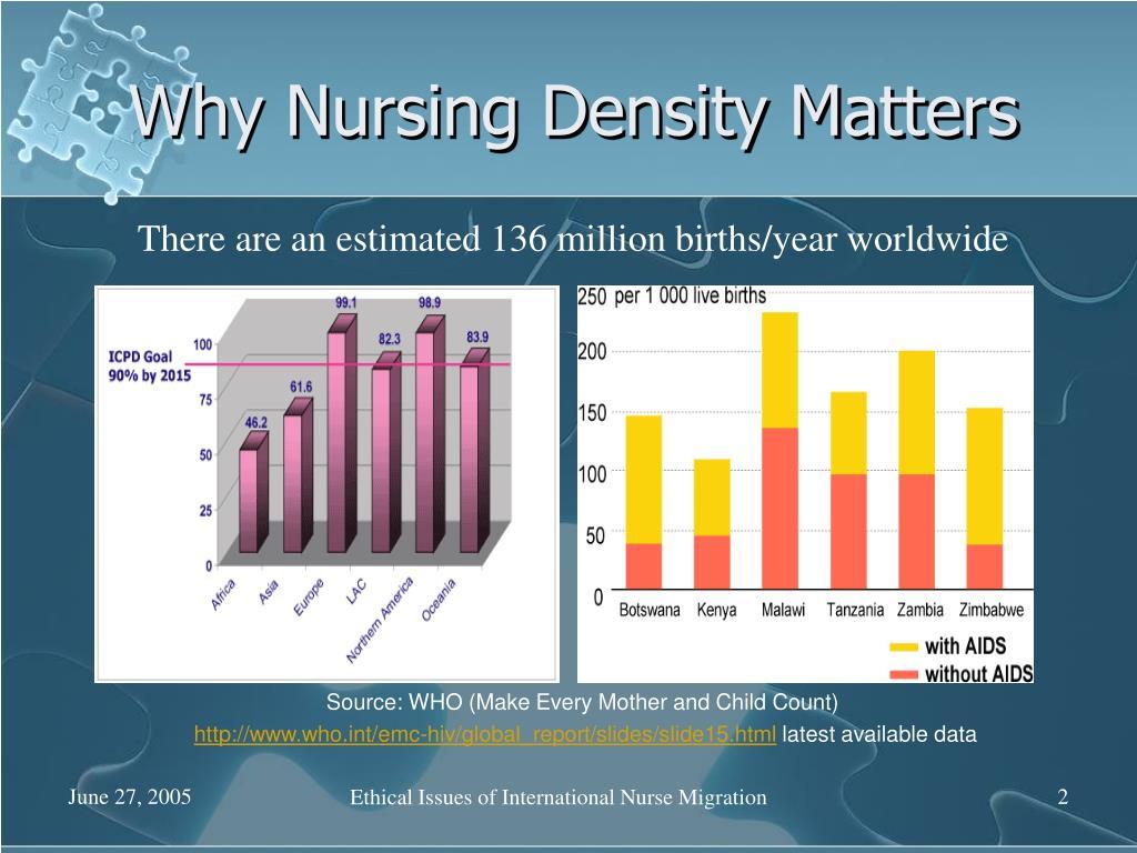 Why Nursing Density Matters