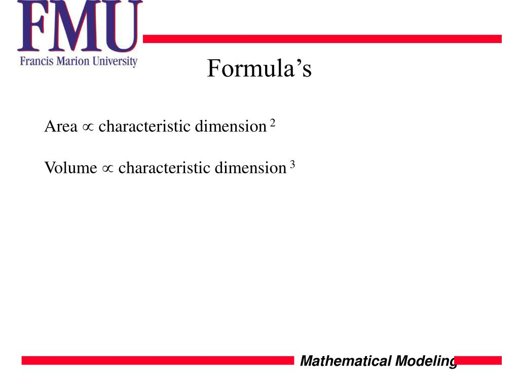 Formula's