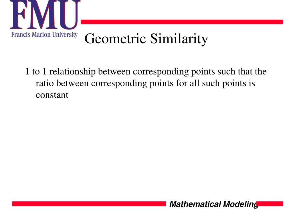 Geometric Similarity