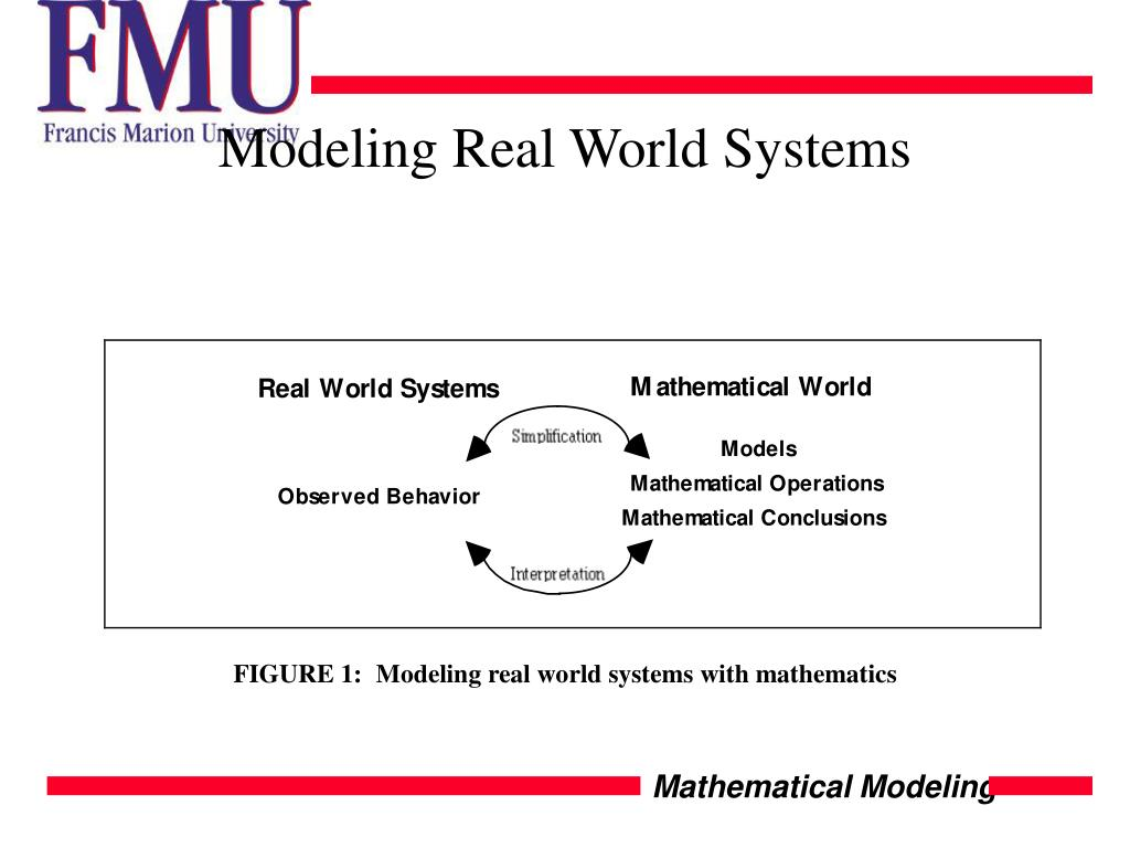 Modeling Real World Systems