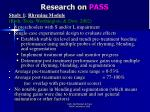 research on pass15