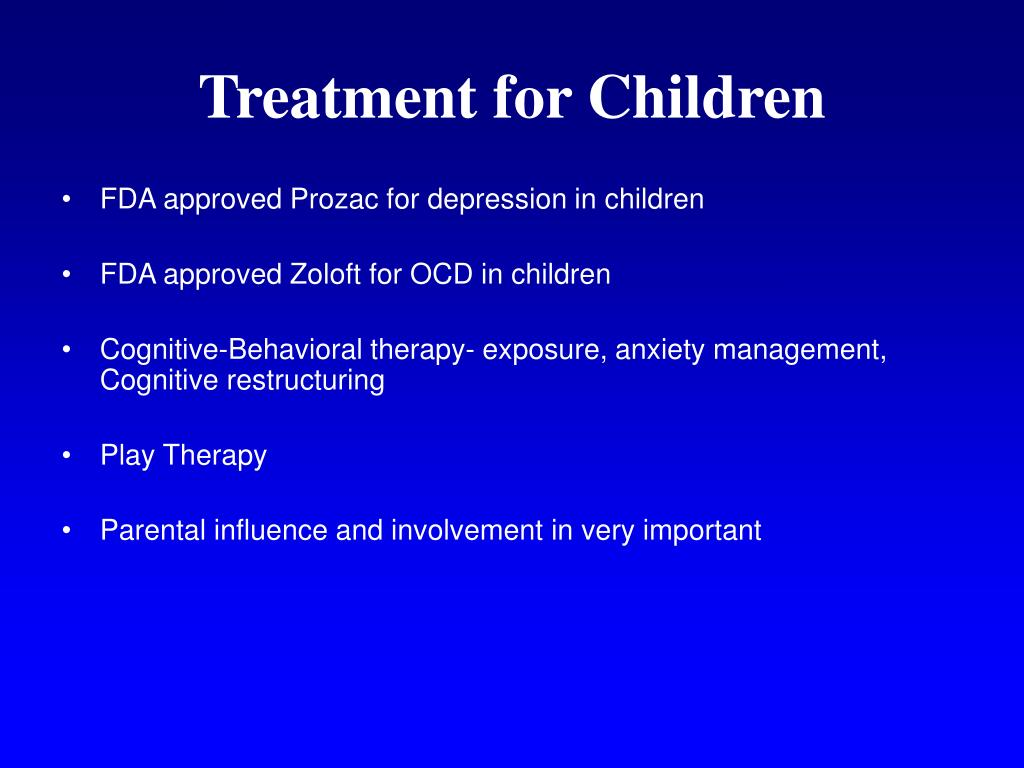 Treatment for Children
