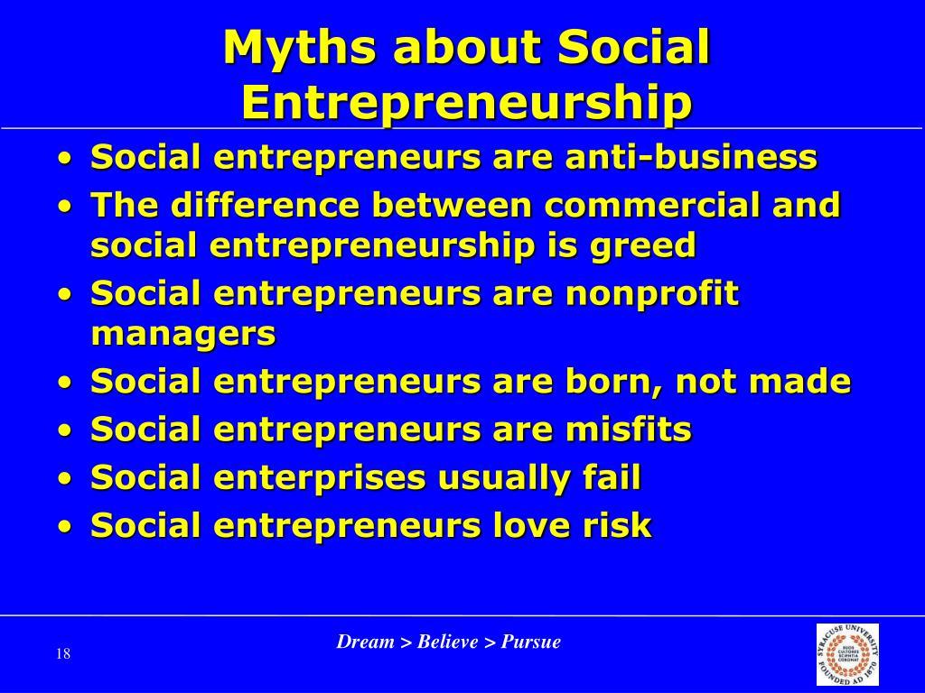 Who is a Social Entrepreneur ?