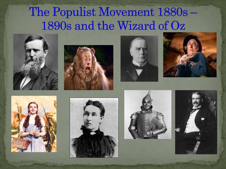Populism as well as typically the Sorcerer for Oz of Essay or dissertation Pattern
