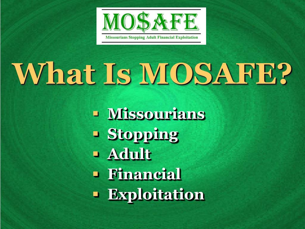 What Is MOSAFE?