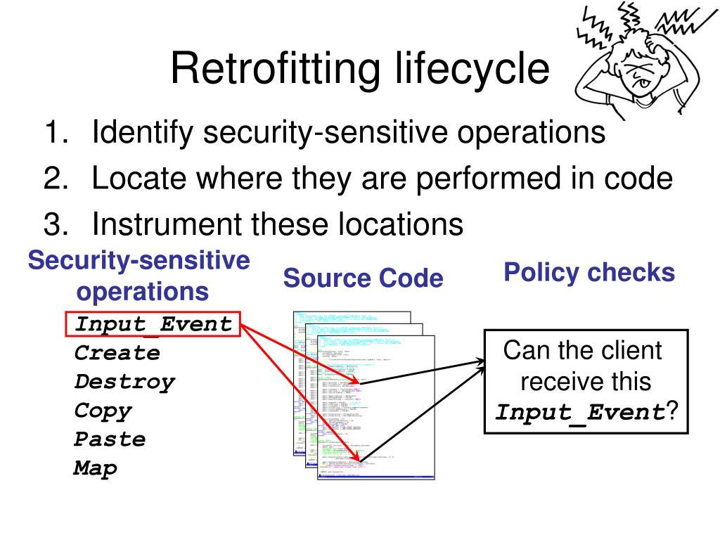 Security-sensitive