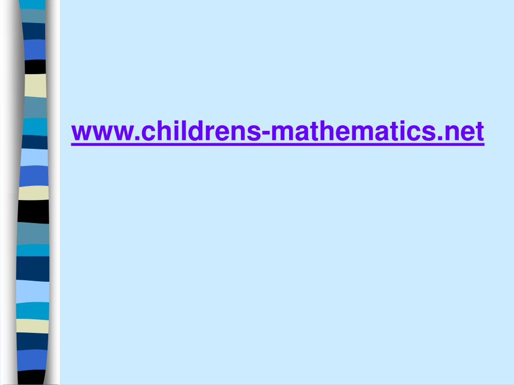 www.childrens-mathematics.net