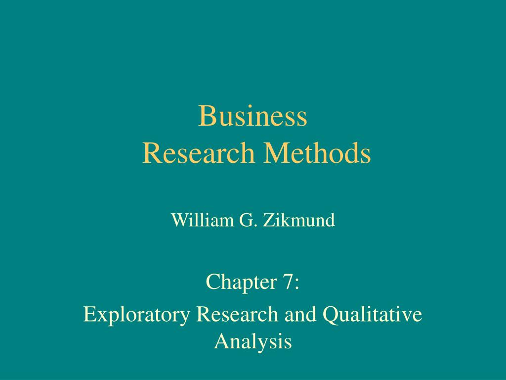 Business Research & Analysis