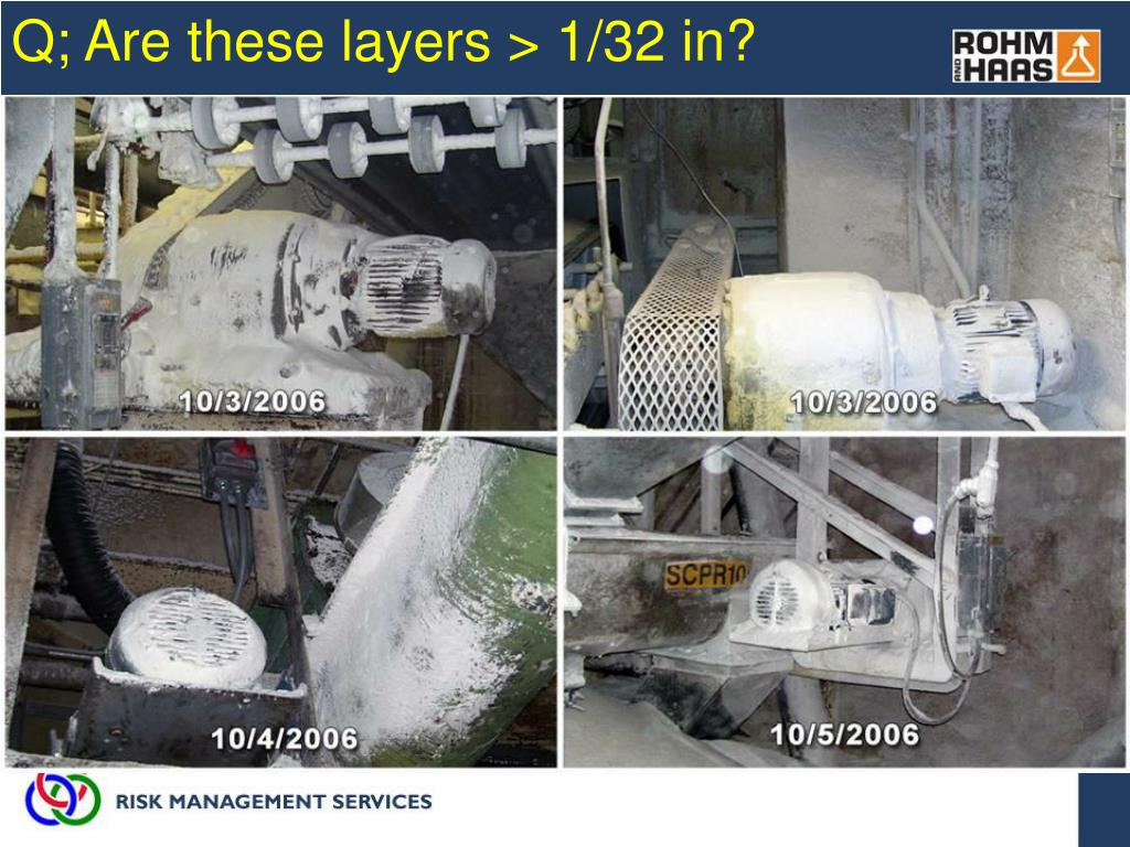 Q; Are these layers > 1/32 in?