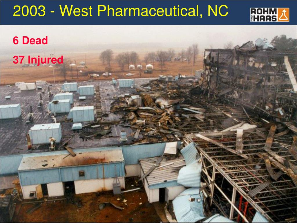 2003 - West Pharmaceutical, NC
