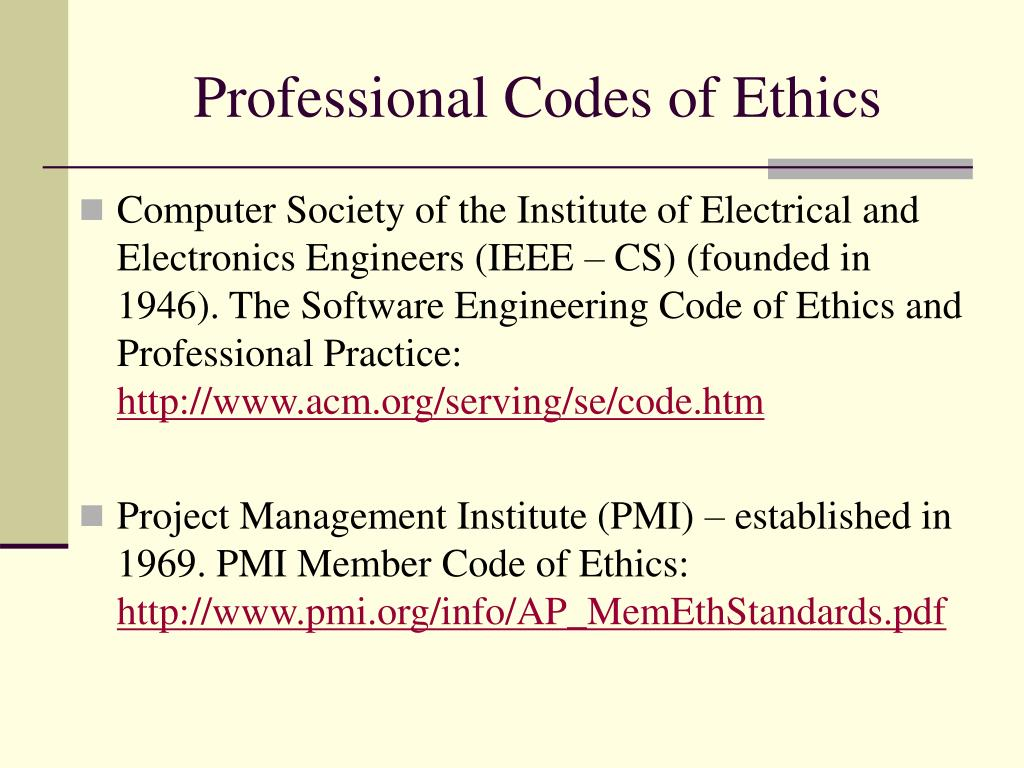 professional codes Start studying ethics professional codes of conduct learn vocabulary, terms, and more with flashcards, games, and other study tools.