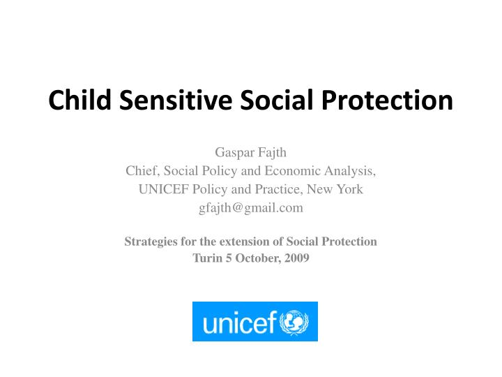 Child sensitive social protection l.jpg
