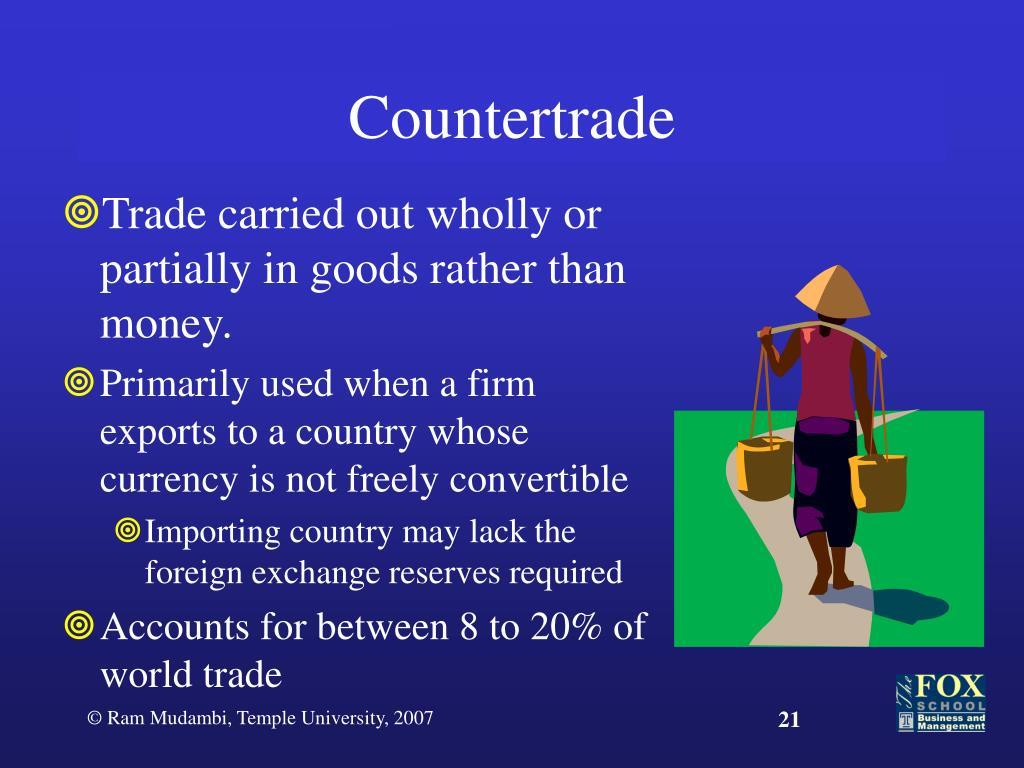 Countertrade