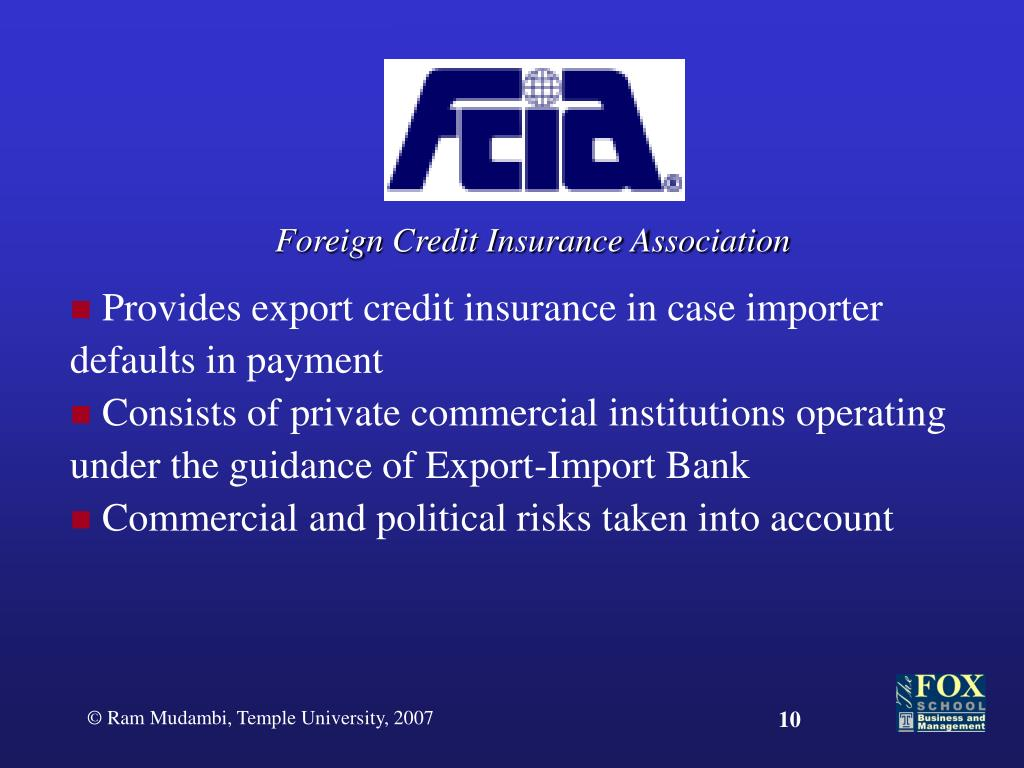 Foreign Credit Insurance Association