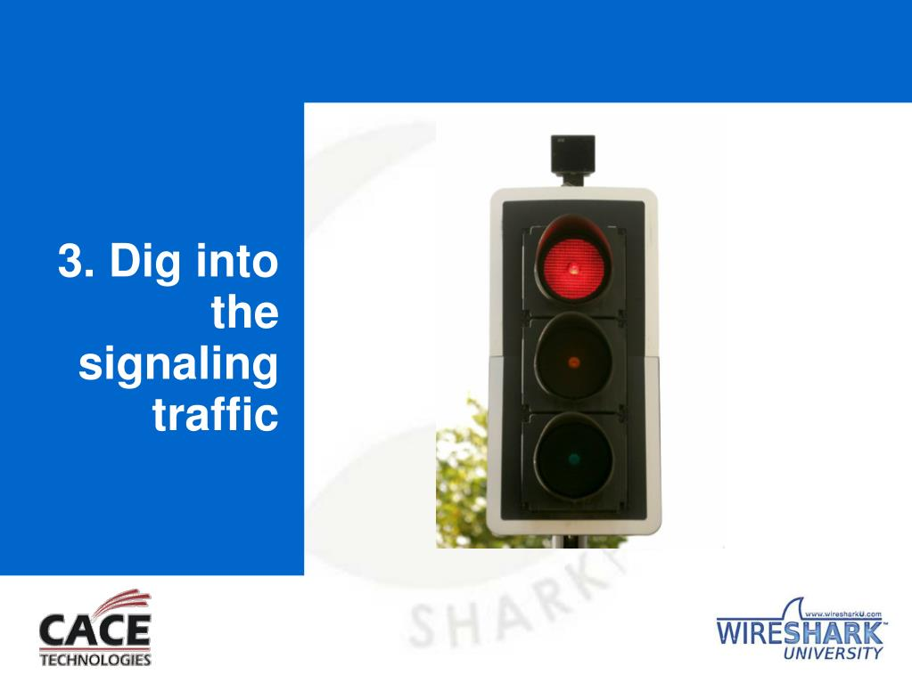 3. Dig into the signaling traffic