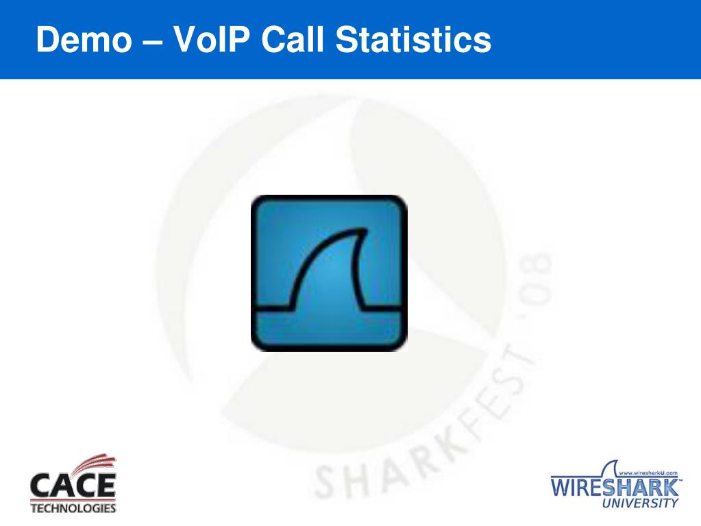 Demo – VoIP Call Statistics
