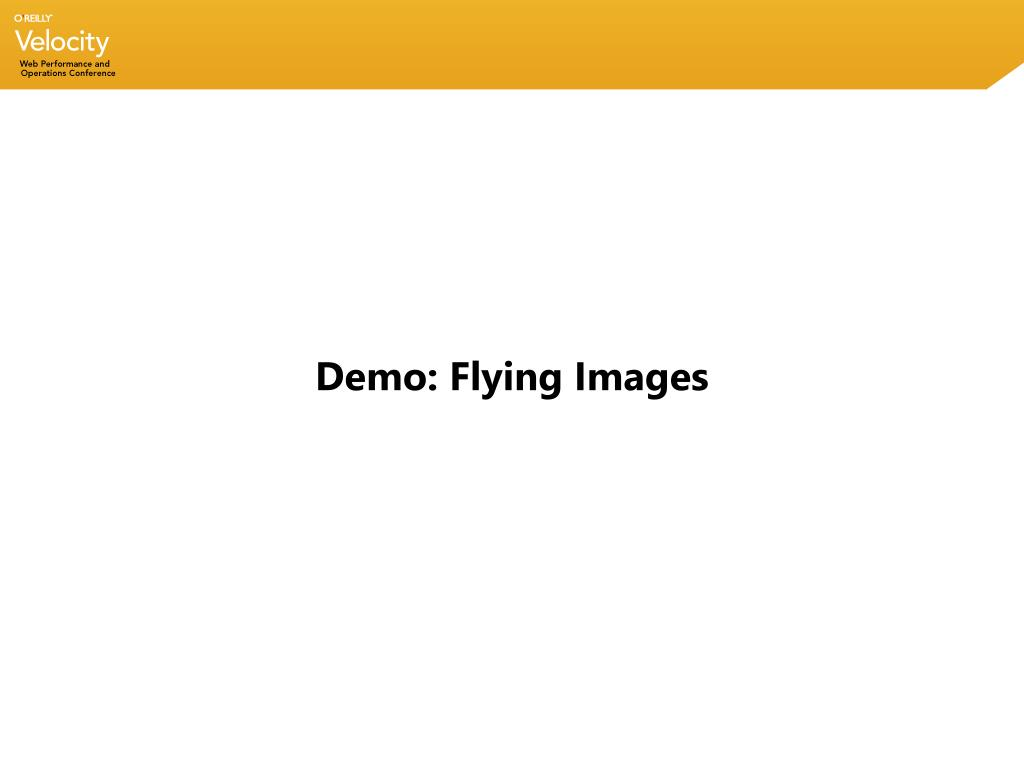 Demo: Flying Images