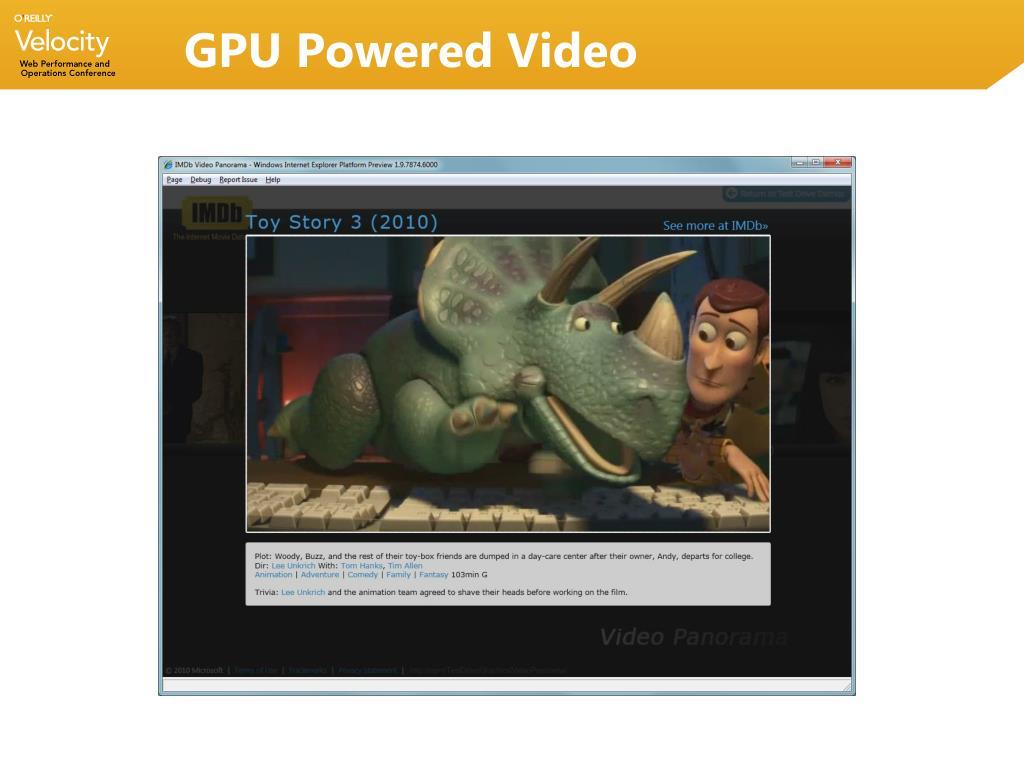 GPU Powered Video