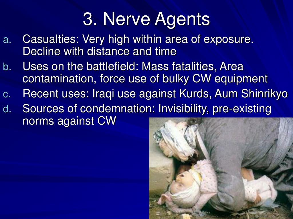 3. Nerve Agents