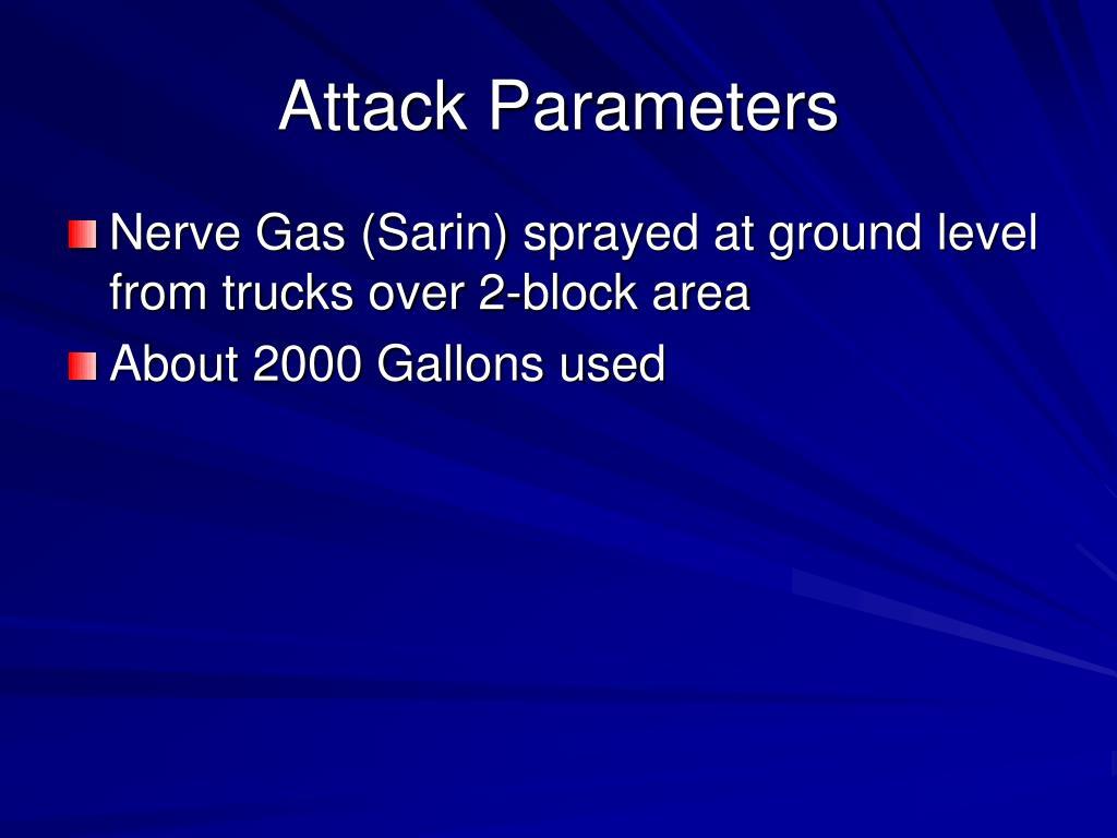 Attack Parameters