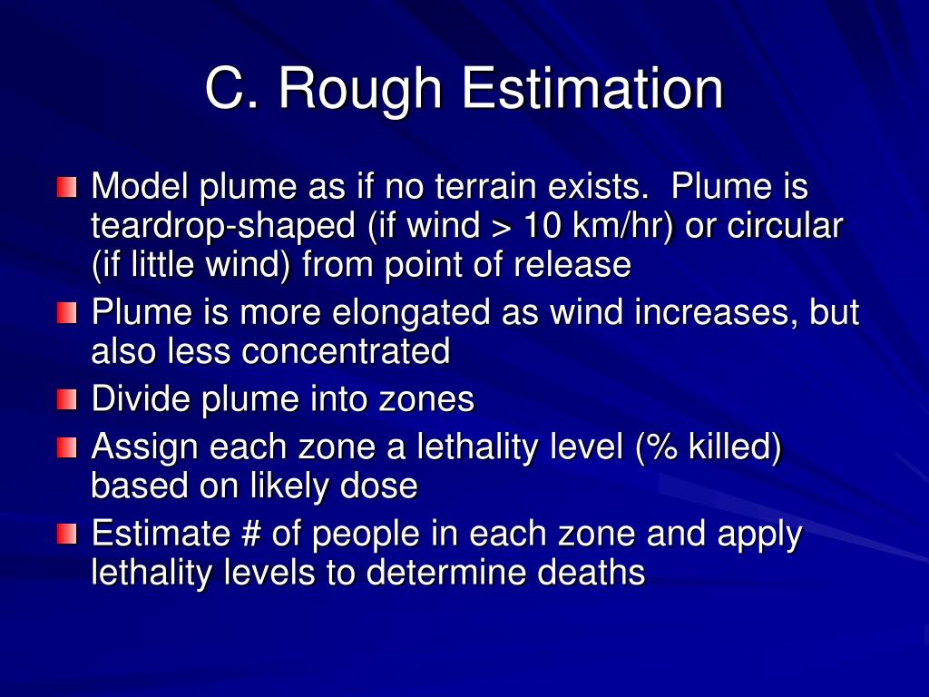C. Rough Estimation