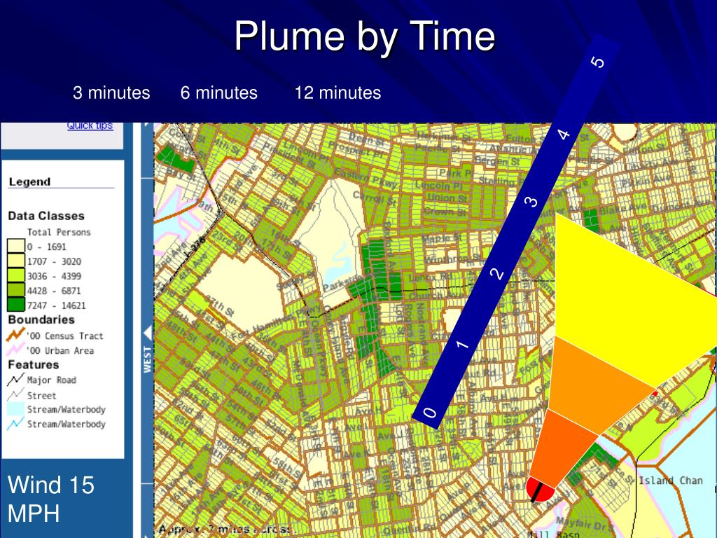 Plume by Time