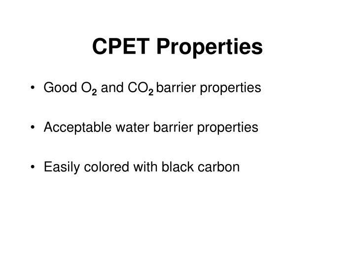 CPET Properties